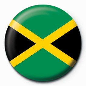 JAMAICA (FLAG) Button