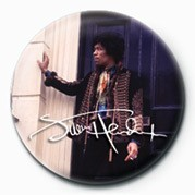 Button  JIMI HENDRIX (DOOR)