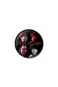 Button KINGS OF LEON - band