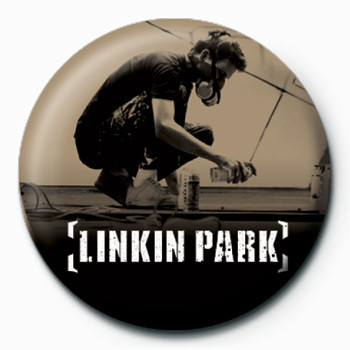 Button  LINKIN PARK - graffiti