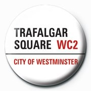 LONDON - trafalgar square Button