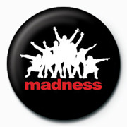 Button  MADNESS - Black