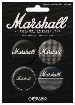 Button MARSHALL - amps