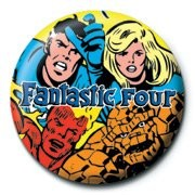 Button  MARVEL - fantastic four