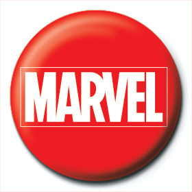 Button Marvel - Logo