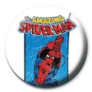 Button MARVEL - spiderman / retro