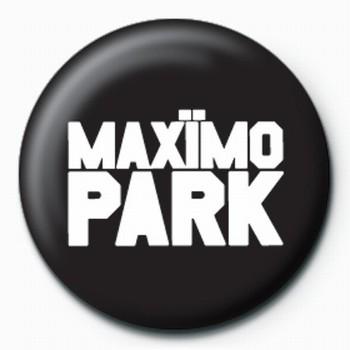 Button Maximo Park-Logo