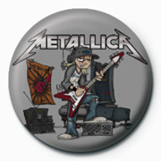 Button  METALLICA - kid