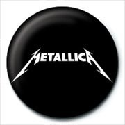 METALLICA - logo Button