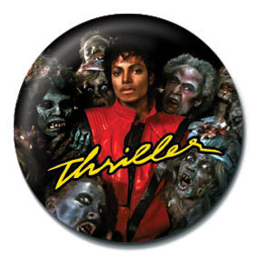 MICHAEL JACKSON - thriller Button