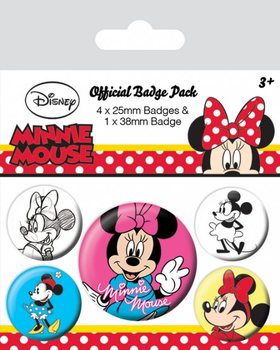 Button Minni Maus (Minnie Mouse) - Through The Ages