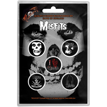 Button Misfits – Skull Button