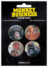 Button MONKEYS BUSINESS