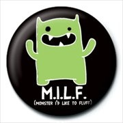 Button  MONSTER MASH - m.i.l.f.