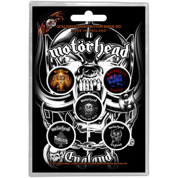Button Motorhead – England