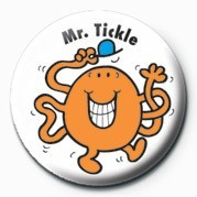 Button MR MEN (Mr Tickle)
