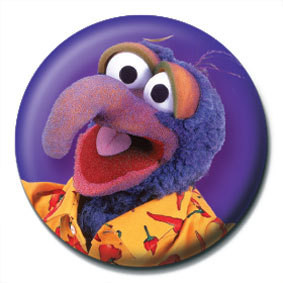 Button MUPPETS - Gonzo