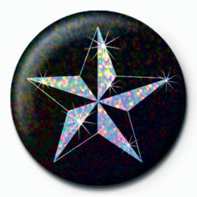 Button NAUTICAL STAR