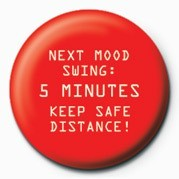 Button NEXT MOOD SWING - 5 MINUTES