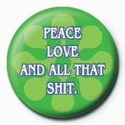 Button  Peace, Love and all that S