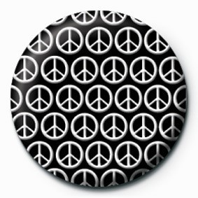 Button PEACE (MULTI)