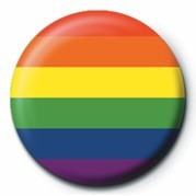 Button PRIDE - FLAG