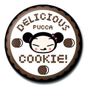 Button PUCCA - cookie