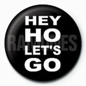 Button RAMONES (HEY HO )
