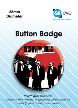 Button  Reservoir Dogs Red