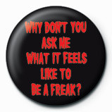 Button ROB ZOMBIE - ask me