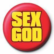 Button SEX GOD
