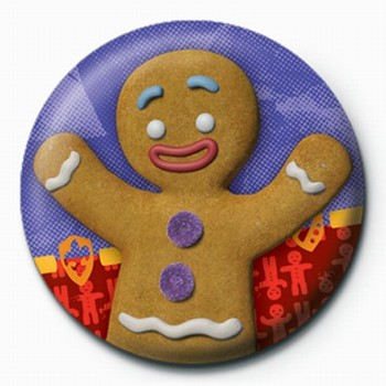 Button  SHREK 3 - gingy
