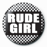 SKA - Rude girl Button