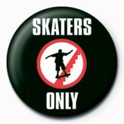 Button SKATEBOARDING - SKATERS ON