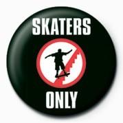SKATEBOARDING - SKATERS ON Button