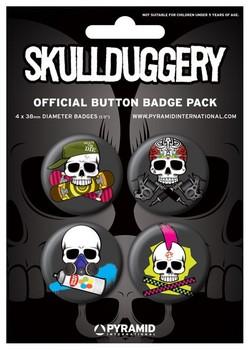 Button SKULLDUGGERY