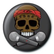 Button  SKULLDUGGERY - rapper