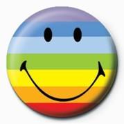 Button SMILEY - RAINBOW