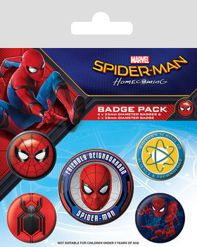 Button Spider-Man Homecoming