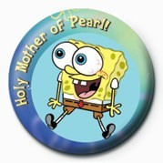 Button SPONGEBOB - perle