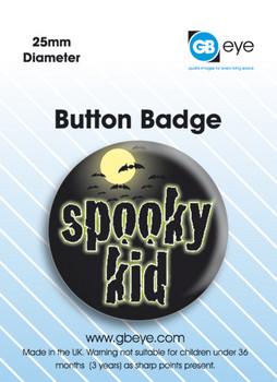 Spooky Kid Button