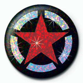 Button STAR CIRCLE