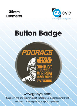 Button STAR WARS - episode one