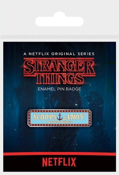 Button Stranger Things - Scoops Ahoy