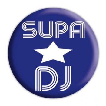 Button SUPASTAR DJ