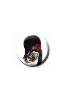 Button TAKKODA - amy winehouse