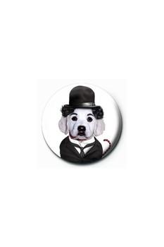 Button TAKKODA - charlie chaplin