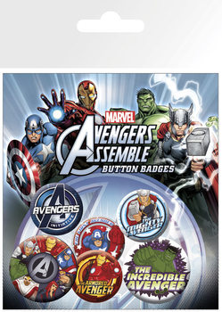 Button THE AVENGERS - character