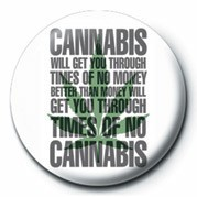 Button TIMES OF NO CANNABIS