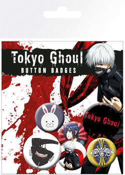Button  Tokyo Ghoul - Mix